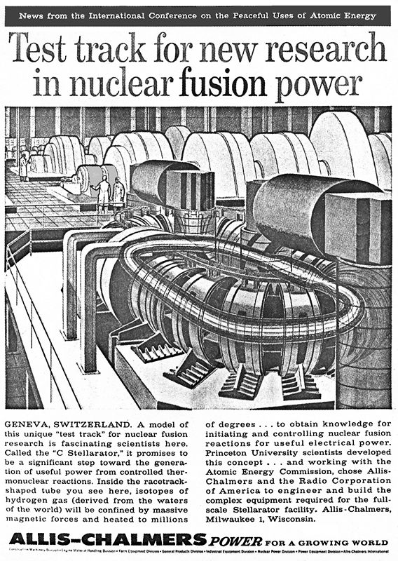 Fusion Reactor from 1957 Scientific American