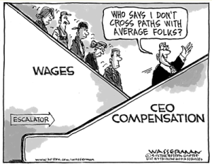Wasserman's economic escalator