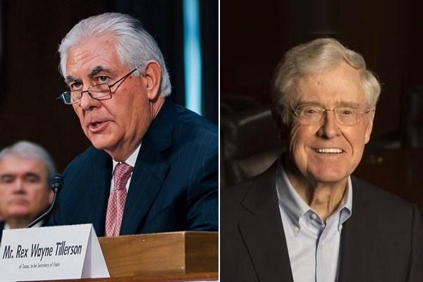 Tillerson & Koch CEOs