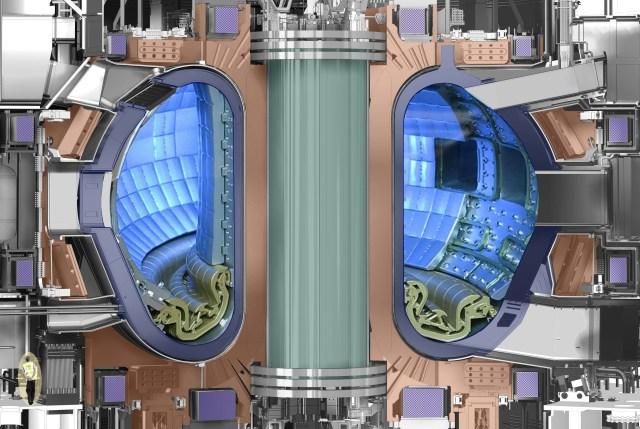 ITER cutaway diagram