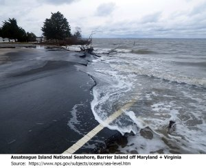 Sea Level rising image